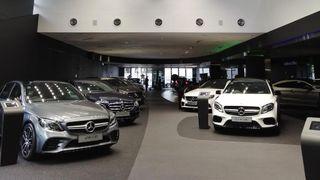 Mercedes-benz-showroom-car-dealer